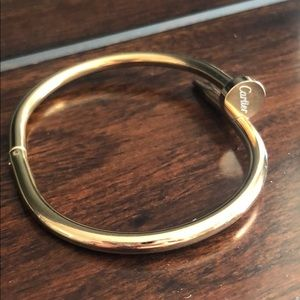 Rose Gold nail bracelet